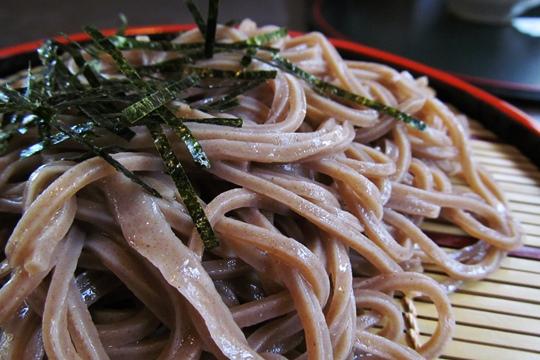 0501木曽楢川の蕎麦。.JPG