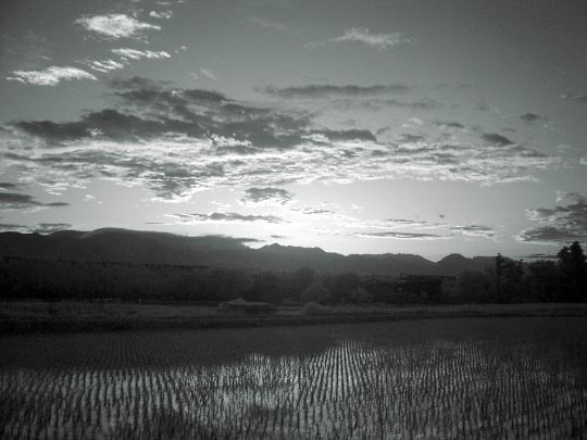 今日の夕焼け。1.jpg