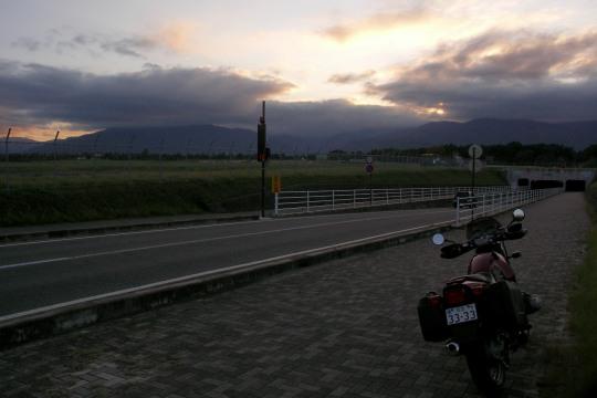 夕暮れの空港。.jpg